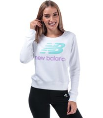 womens essentials crew sweatshirt