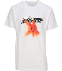 off white plastic fish t-shirt