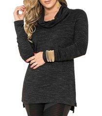blusa evelyn negro para mujer croydon