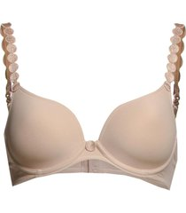 tom padded bra lingerie bras & tops wired bra beige marie jo