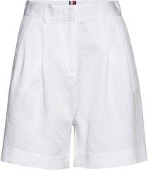 linen tencel short bermudashorts shorts wit tommy hilfiger