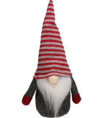 northlight gnome with striped hat table top christmas decoration