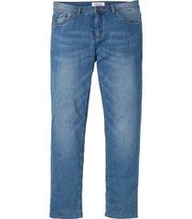 jeans termici elasticizzati regular fit straight (blu) - john baner jeanswear