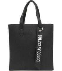 bolsa colcci shopping bag preta