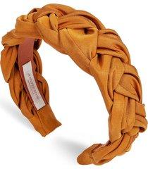 silk faille lorelei headband