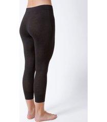 natori fresh cotton high-waist crop legging