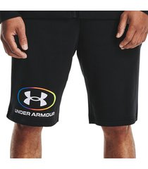 broek under armour rival fleece lockertag shorts