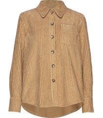 min overhemd met lange mouwen bruin baum und pferdgarten