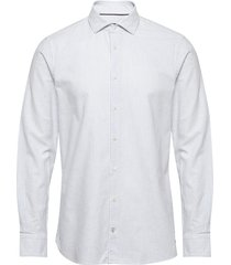 ithaca stripe classic slim shirt skjorta casual blå tommy hilfiger tailored