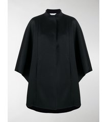 max mara funnel neck cape coat