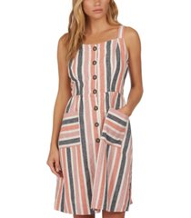 barbour striped sleeveless dress