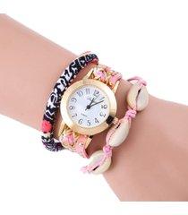 reloj rosa sasmon re-17305