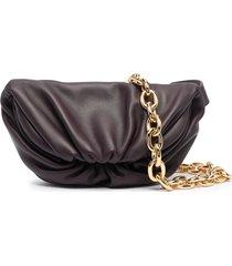 bottega veneta pouch belt bag - purple