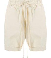 alchemy drawstring short shorts - neutrals