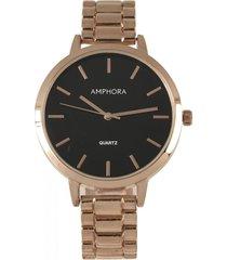 reloj rosa amphora w076