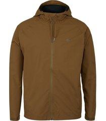 wolverine men's i-90 rain jacket chestnut, size l