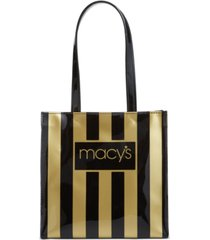 macy's striped lunch tote, created for macy's