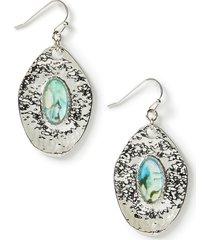 garden shimmer drop earrings