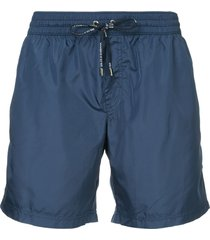 dolce & gabbana drawstring fitted swim-shorts - blue