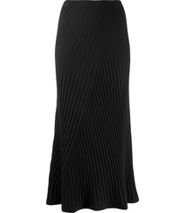 filippa k fay ribbed skirt - black