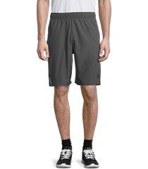 spyder men's drawstring shorts - burnt charcoal - size l