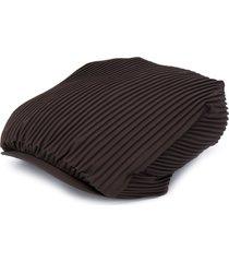 issey miyake pleated design beret - grey