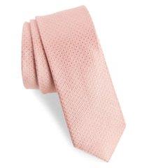 men's the tie bar spin dot silk & cotton tie