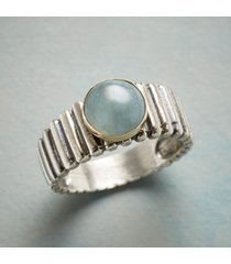 aquamarine bridge ring