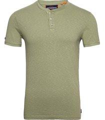 heritage ss grandad t-shirts short-sleeved grön superdry