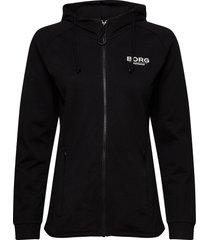jacket francesca francesca hoodie svart björn borg