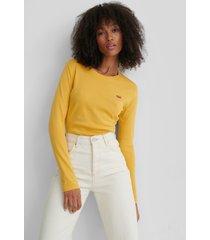 levi's t-shirt med logga - yellow