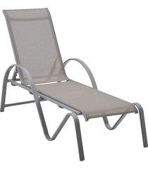 chaise buzios cinza tela cinza rivatti móveis