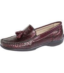 loafers naturläufer bordeaux