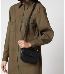 a.p.c. women's mini geneve shoulder bag - black