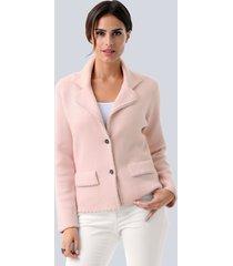 blazer alba moda rozenhout