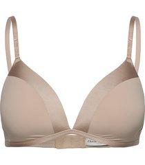 bra charm matt shiny lingerie bras & tops bra without wire beige lindex