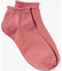 loft scalloped ankle socks