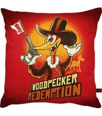 almofada - woodpecker redemption
