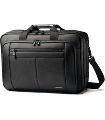 samsonite classic three gusset toploader laptop briefcase