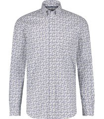 casual shirt state of art navy geel