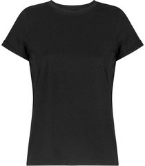 camiseta básica unicolor manga corta para mujer freedom 01043
