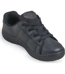zapatos lineablanca aeroflex negro unicolor ok1652
