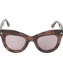 47mm oval sunglasses