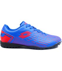 zapatillas para futbol torretin lotto dybala tf h2a - azul