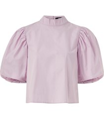 blus catalina puff sleeve blouse