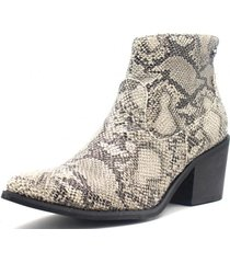 botin animal print gotta
