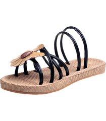sandali piatti multi-way di girasole