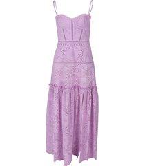 juliette broderie anglaise bustier dress