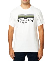 fox cotton logo t-shirt