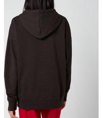 isabel marant étoile women's mansel hoodie - faded black - fr 40/uk 12